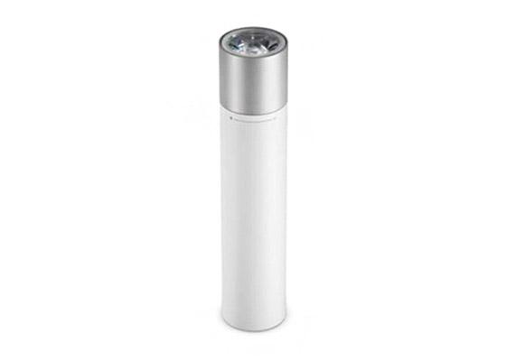 Xiaomi Mi Power Bank Flashlight Bateria Externa 3250mAh + Linterna LED Blanca/Plata