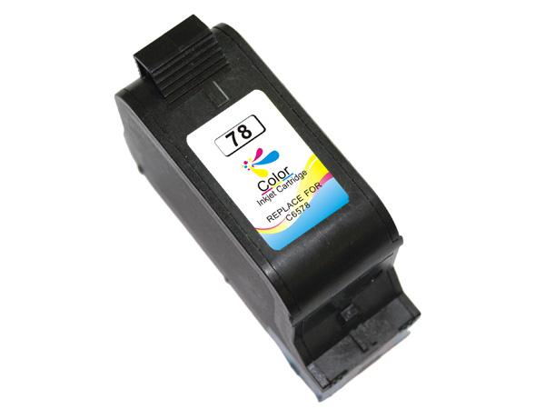 HP 78 tricolor Tinta remanufacturado c6578ae/c6578de
