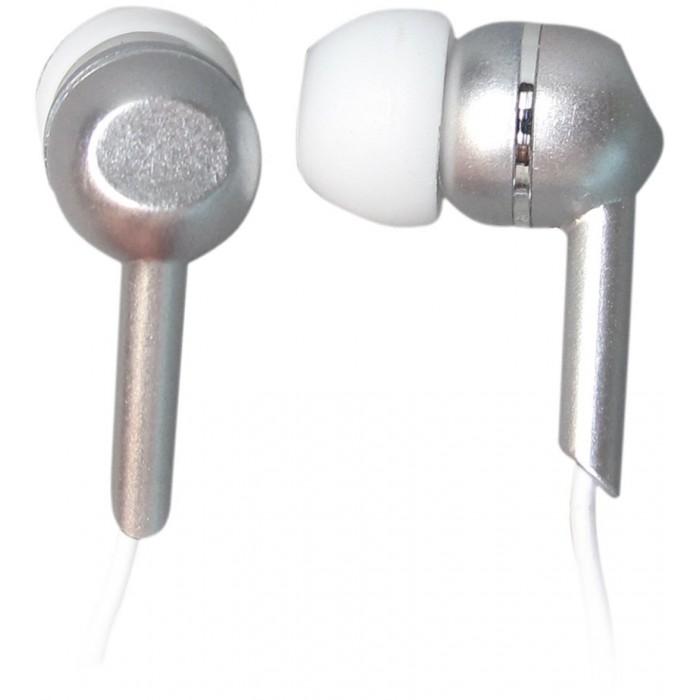 L-Link Auriculares Intrauditivos de Boton Plata