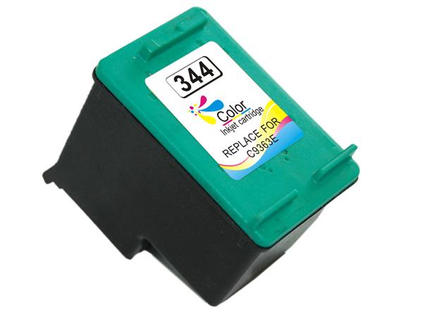 HP 344 tricolor Tinta remanufacturado c9363ee