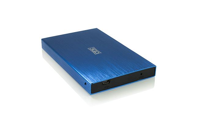 3GO HDD25BL13 Carcasa Externa HD 2.5 SATA-USB Azul