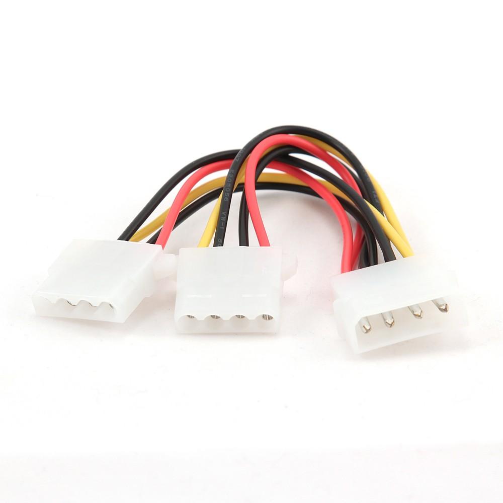 Gembird Cable Alimentacion Molex 5.25/M-2x5.25 0.20m