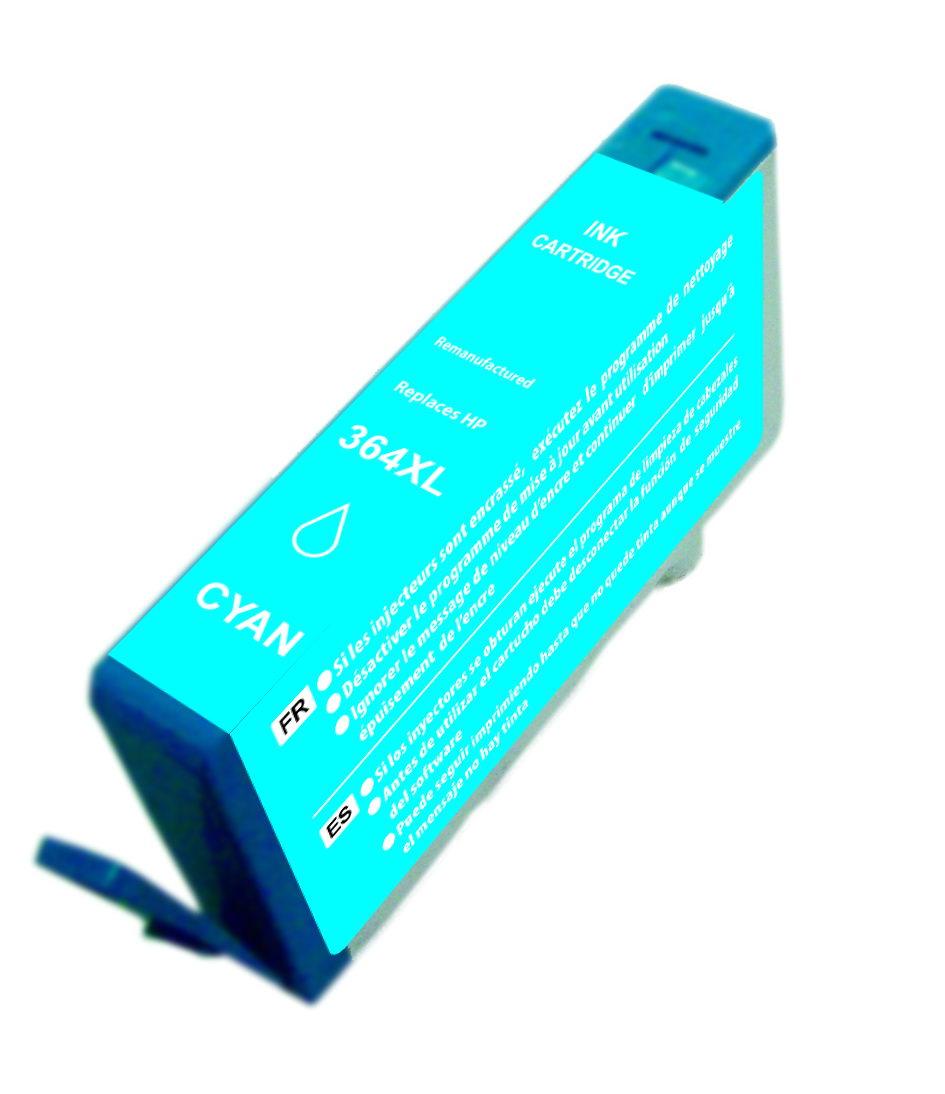 HP 364XL V2 CYAN CARTUCHO DE TINTA GENERICO CB323EE/CB318EE