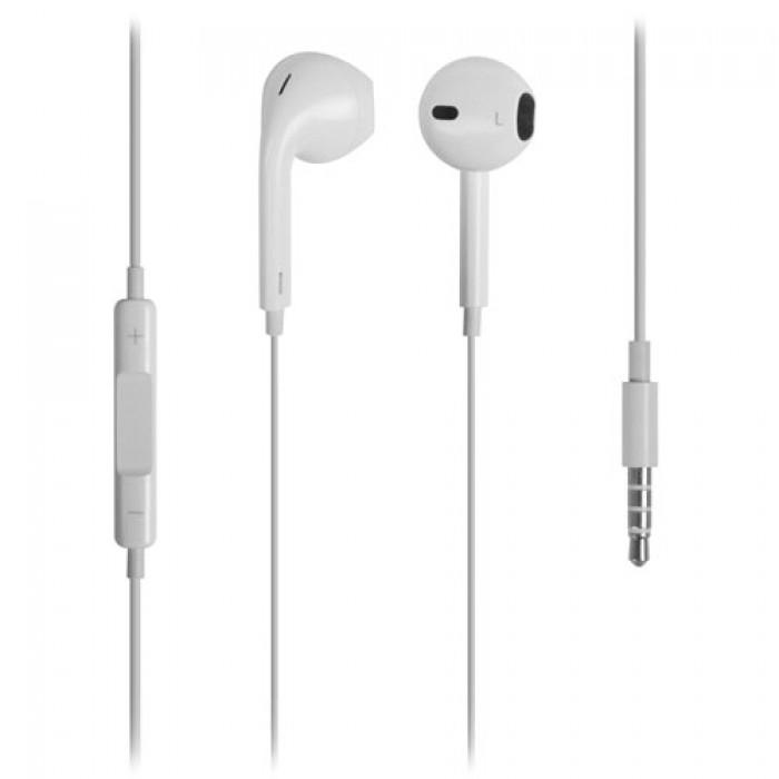 L-Link Auriculares con Microfono EarPods Blancos
