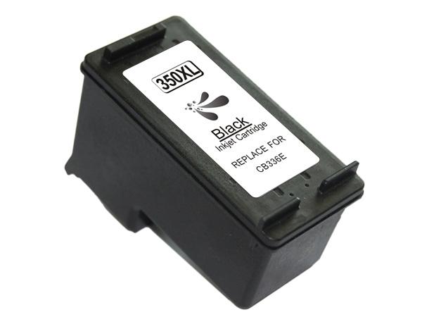 HP 350XL negro Tinta remanufacturado cb335ee/cb336ee