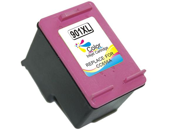 HP 901XL tricolor Tinta remanufacturado CC656ae
