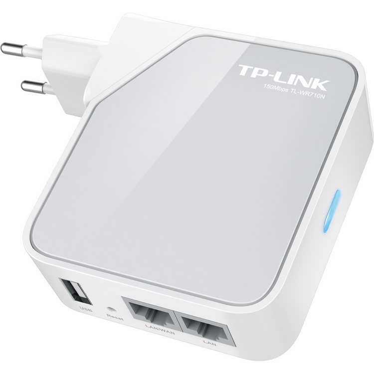 TP-Link TL-WR710N Punto de acceso WiFi de bolsillo / Router / Adaptador de TV / Repetidor