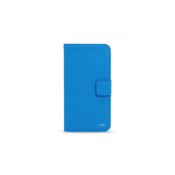 3GO Droxio B51 Funda Flip Cover Piel Azul