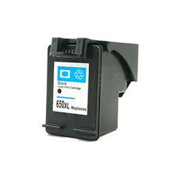 HP 650XL negro Tinta remanufacturado cz101ae