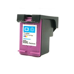 HP 650XL tricolor Tinta remanufacturado cz102ae