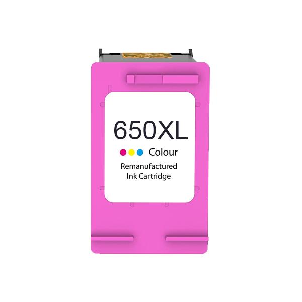 Compatible HP 650XL color tinta - Reemplaza CZ102AE