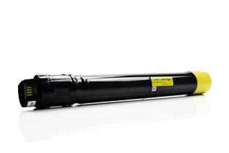 Compatible Xerox Phaser 7800 toner amarillo - Reemplaza 106R01568