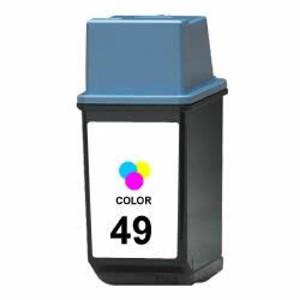 HP 49 tricolor Tinta remanufacturado 51649ae