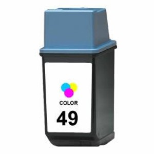 Compatible HP 49 color tinta - Reemplaza 51649AE
