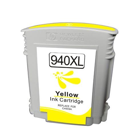 Compatible HP 940XL tinta amarillo - Reemplaza C4909AE