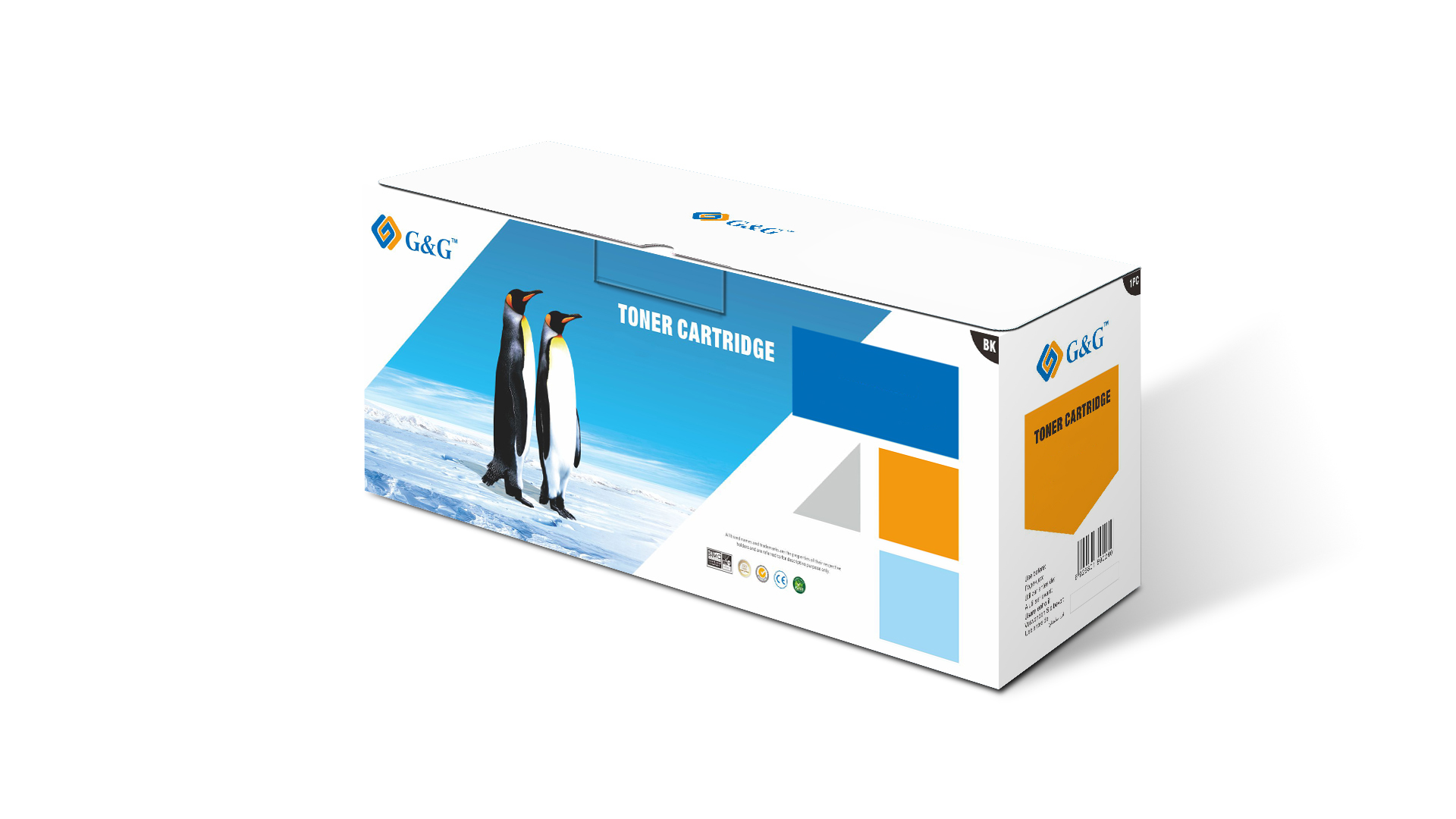 Compatible G&G Brother TN320/TN325 toner amarillo - Reemplaza TN320Y/TN325Y