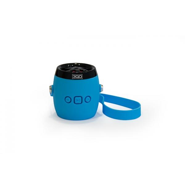 3GO Altavoz Bluetooth Dampy Azul