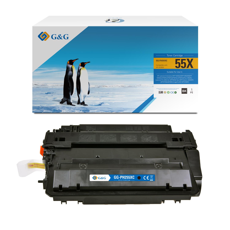 Compatible G&G Canon 724H toner negro - Reemplaza 3482B002