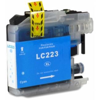 BROTHER LC223/LC221 V2/V3 CYAN CARTUCHO DE TINTA GENERICO LC223C/LC221C (CHIP ULTIMA ACTUALIZACION)