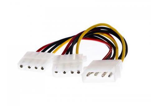 3GO Cable Bifurcador Molex en Y
