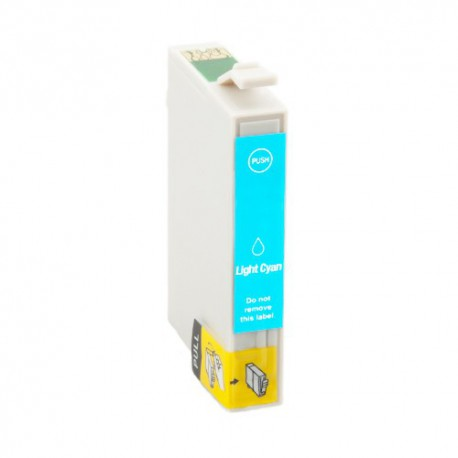 EPSON T0485 CYAN LIGHT CARTUCHO DE TINTA GENERICO C13T04854010