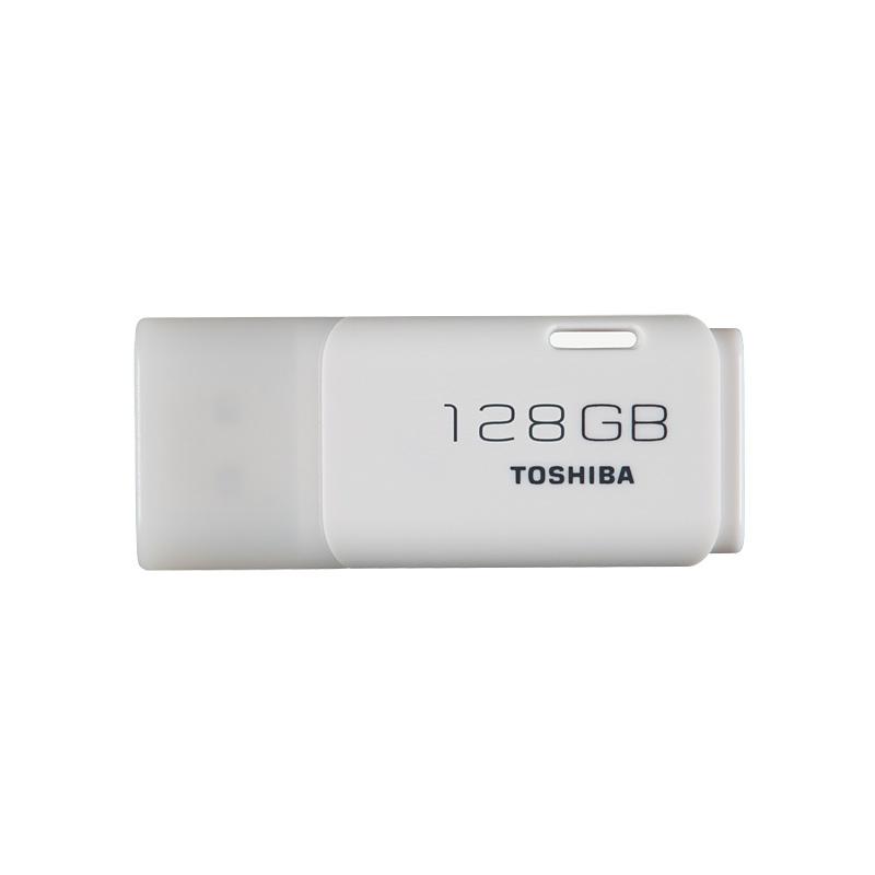 Toshiba Memoria USB 2.0 128GB Hayabusa Blanca