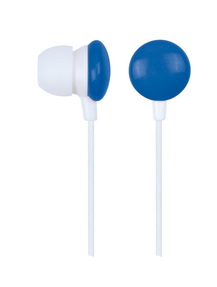 Gembird MHP-EP-001-BLUE Auriculares Ear-In Azul