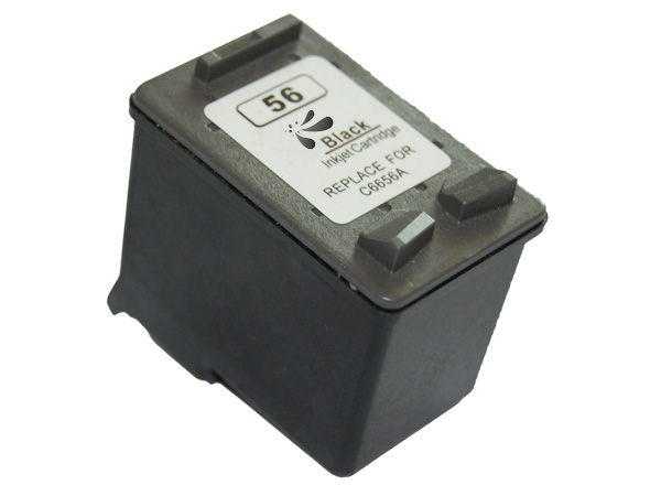 HP 56 negro Tinta remanufacturado c6656ge/c6656ae