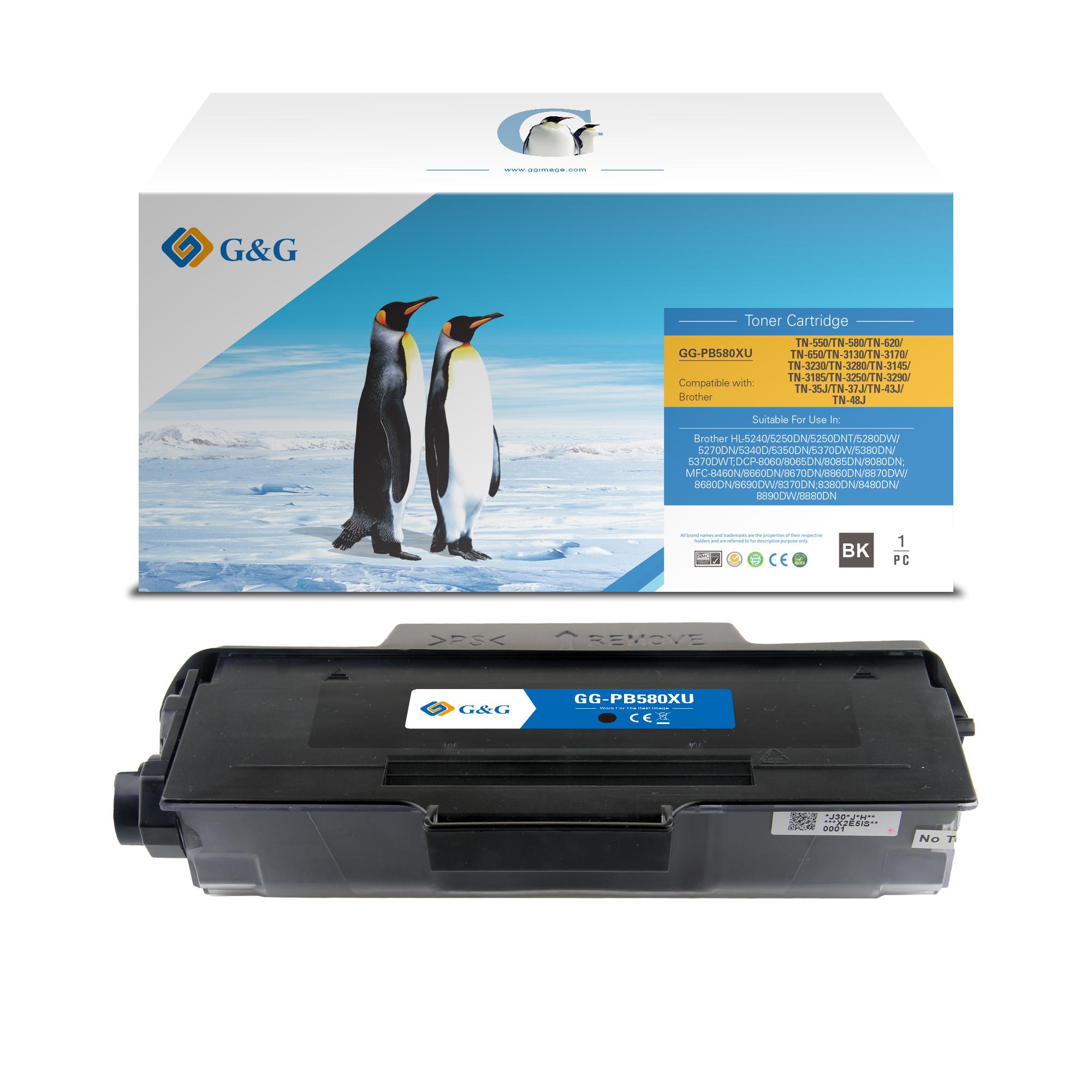 Compatible G&G Brother TN3130/TN3170/TN3230/TN3280 toner negro