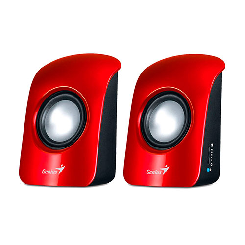 Genius Altavoces USB SP-U115 Rojo