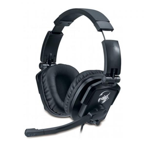 Genius Auriculares Gaming Lychas HS-G550 Negro