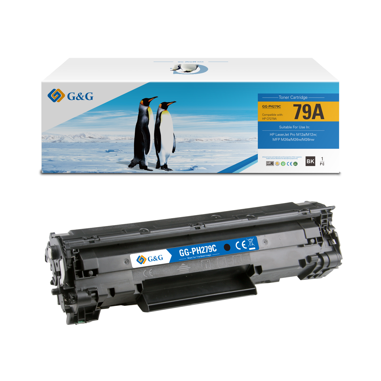 Compatible G&G HP CF279A toner negro - Reemplaza 79A
