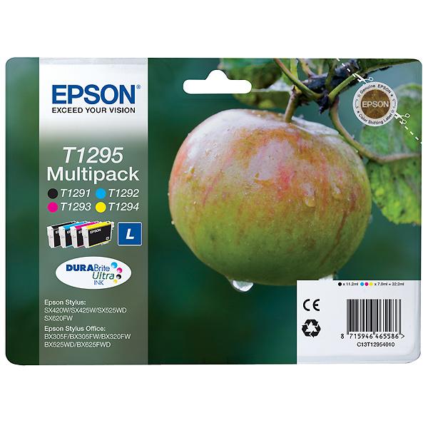 EPSON T1295 MULTIPACK ORIGINAL 4 CARTUCHOS C13T12954012
