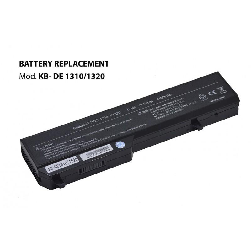 Kloner KB-DE1310/1520 Bateria para Dell 11.1V 4400mAh