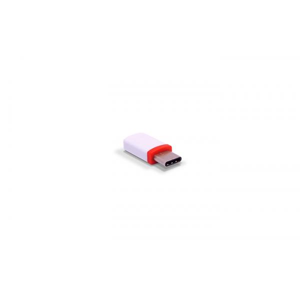 3GO A201 Adaptador Micro USB a USB Type-C hembra/macho