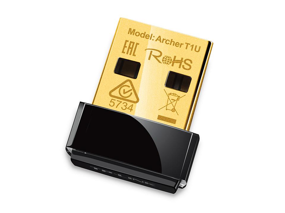 TP-Link Archer T1U Adaptador Nano USB Inal?mbrico AC450