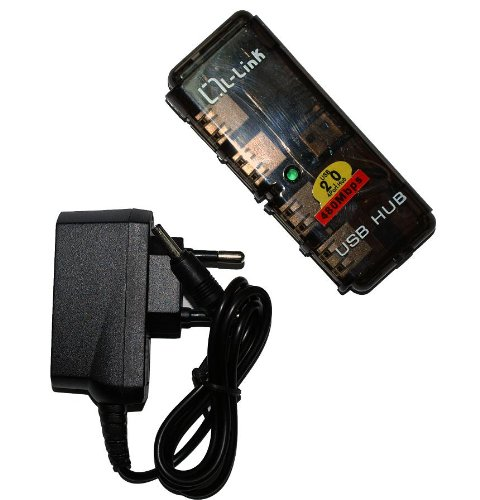 L-Link LL-UH-404L Hub 4 Puertos USB 2.0 con Alimentaci?n