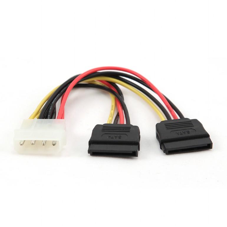 Gembird CC-SATA-PSY Cable SATA Alimentacion 0.15m