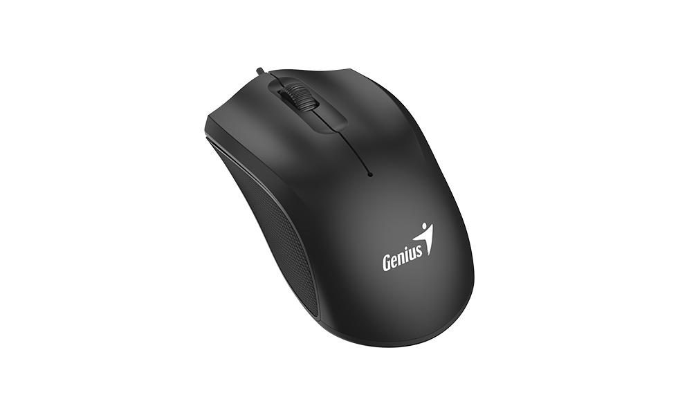 Genius 31010238100 Raton Optico USB DX170 1600dpi 1.5m Negro