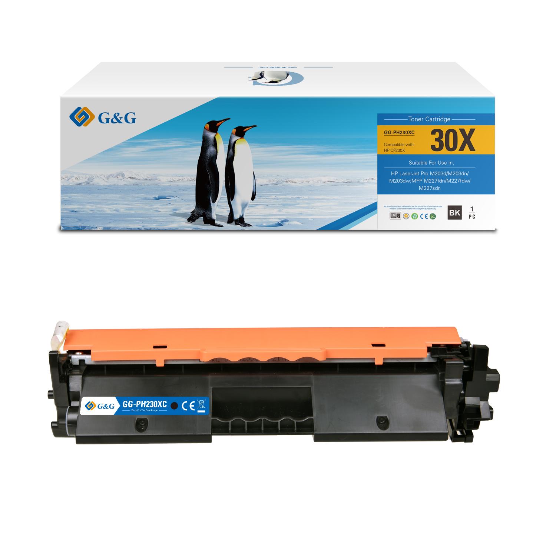 Compatible G&G HP CF230X toner negro - Reemplaza 30X