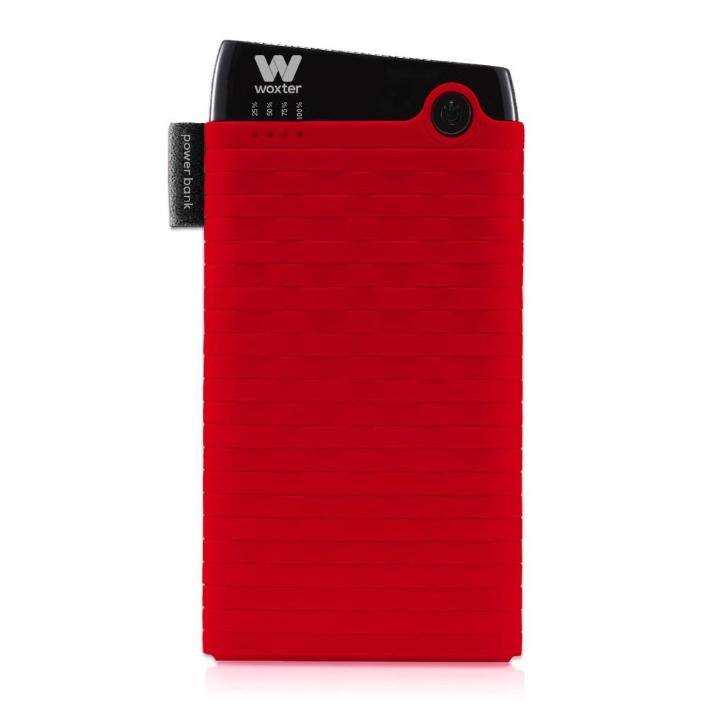 Woxter PE26-129 Bateria Externa/Power Bank 6000mAh Rojo