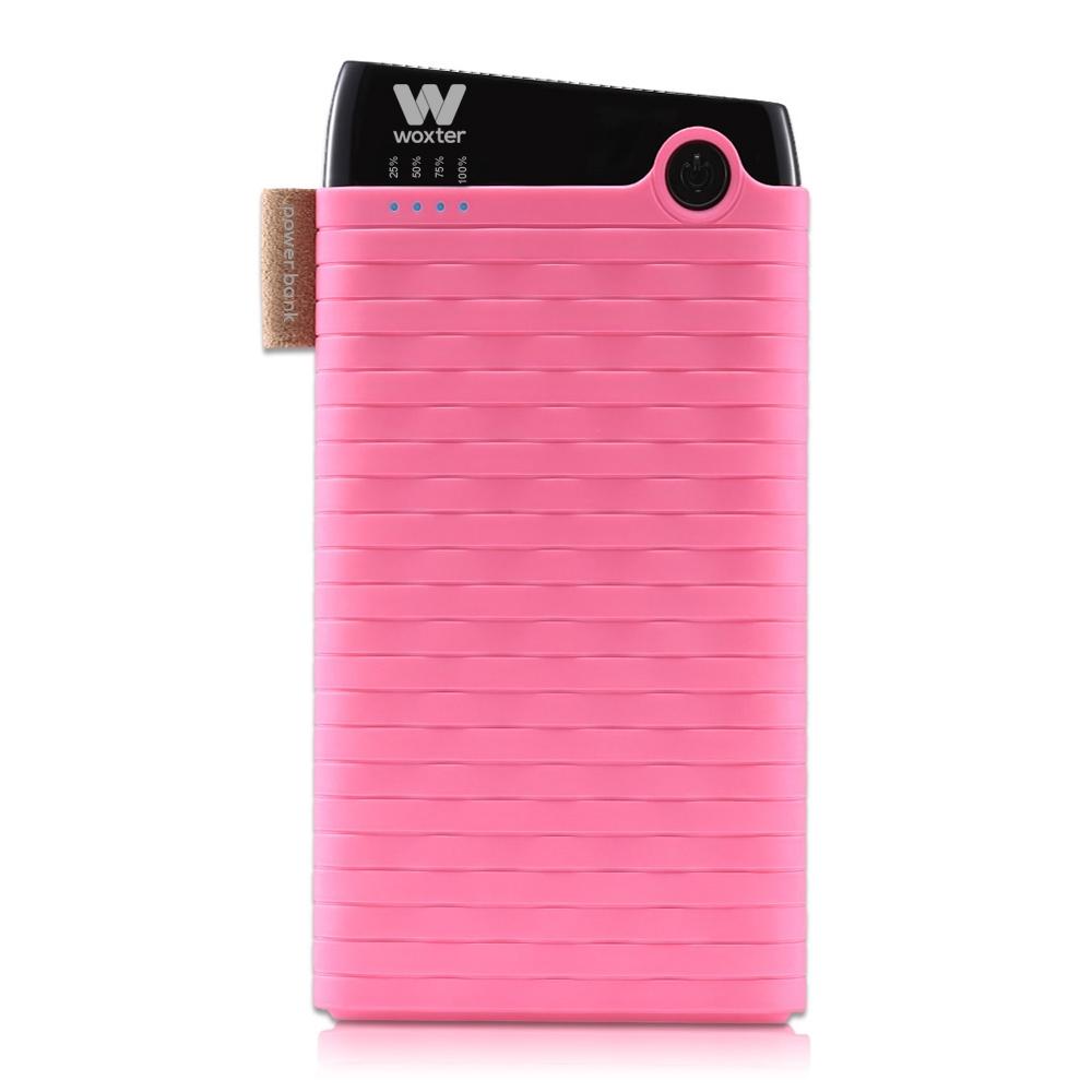Woxter PE26-128 Bateria Externa/Power Bank 6000mAh Rosa