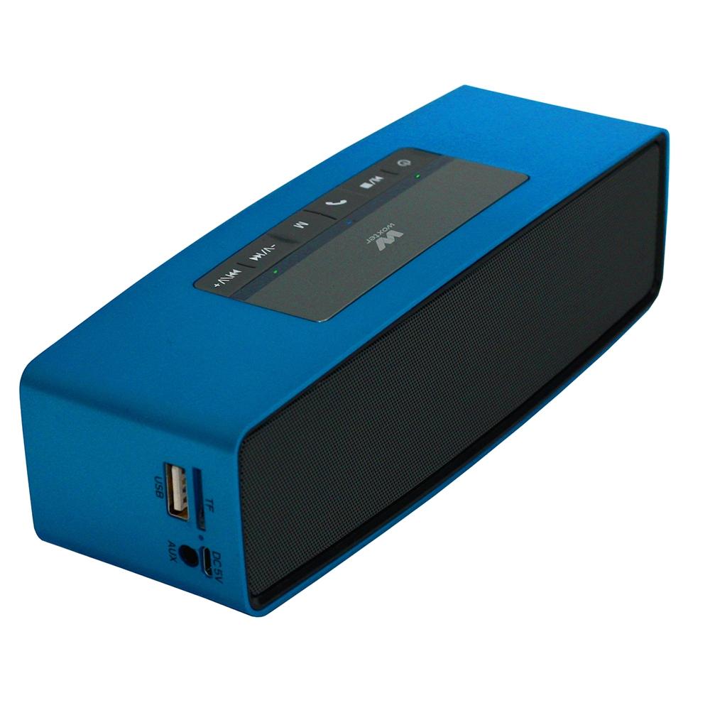 Woxter SO26-059 Altavoz Bluetooth 10W Big Bass BT-10 Azul