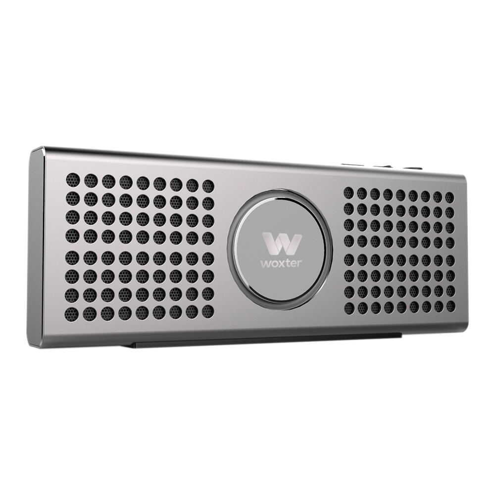 Woxter SO26-065 Altavoz Bluetooth 10W Big Bass BT-20 Plata