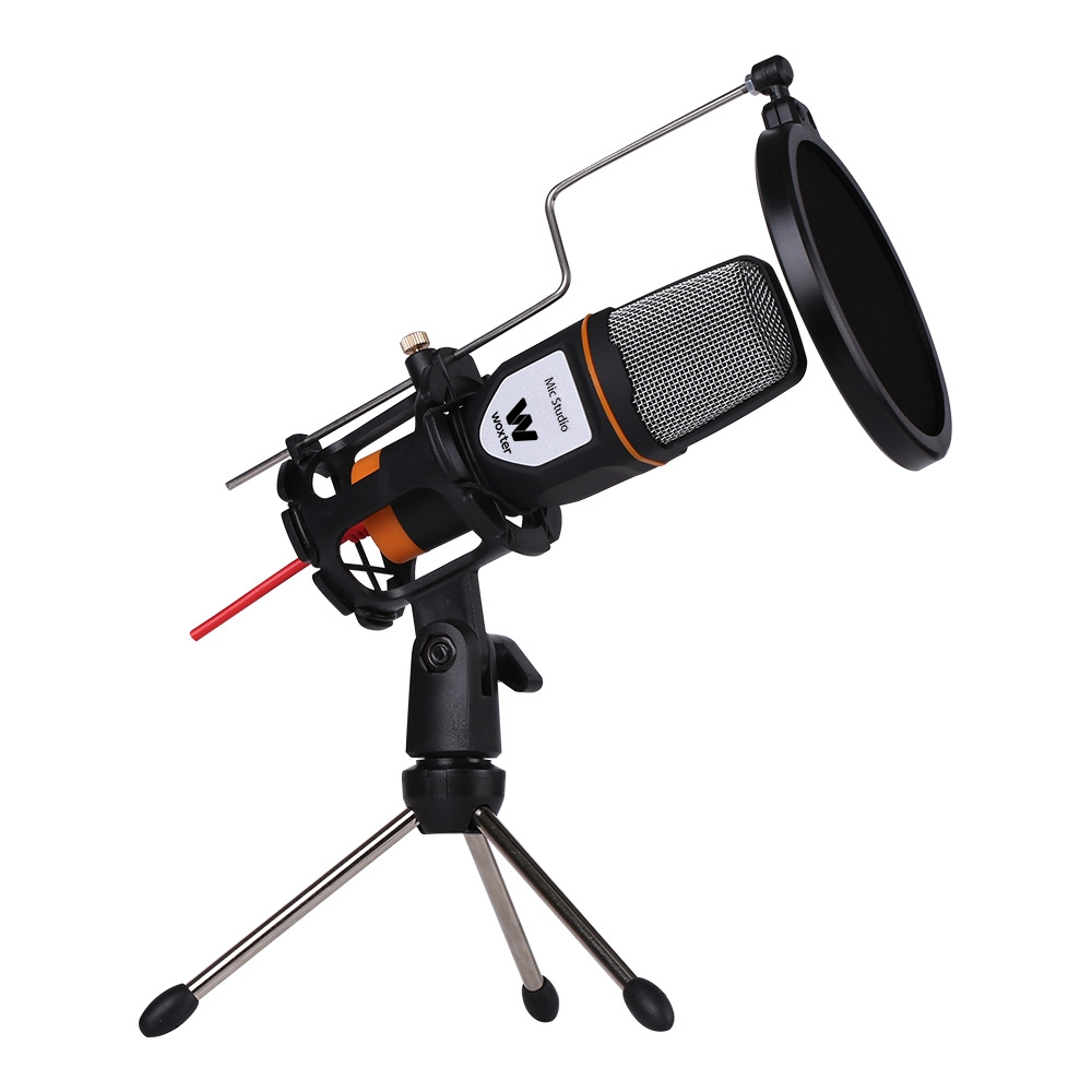 Woxter WE26-019 Microfono Condensador Studio Negro