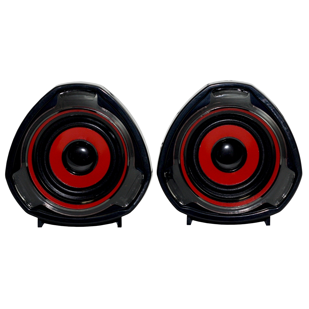 Woxter SO26-056 Altavoces USB 15W Big Bass 70 Negro/Rojo