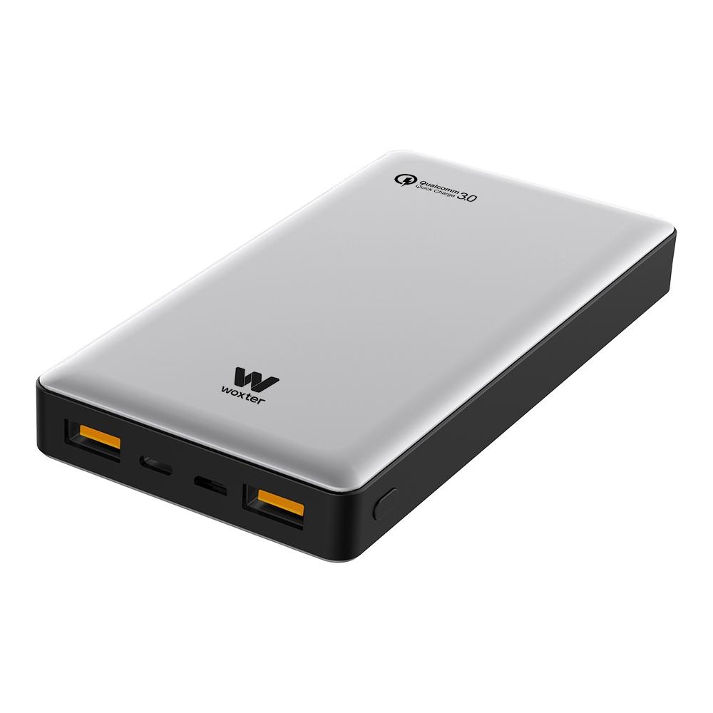 Woxter PE26-155 Bateria/Power Bank QC 16000mAh Plata