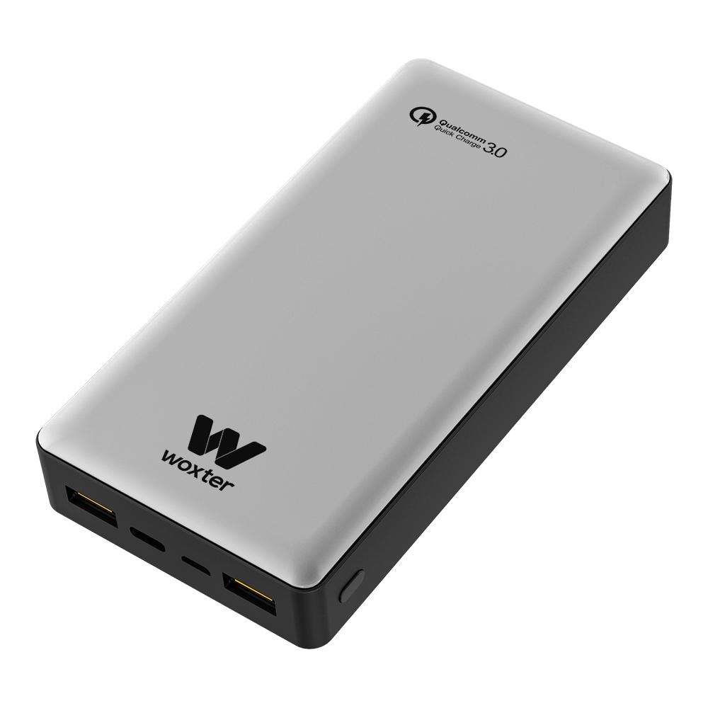 Woxter PE26-157 Bateria/Power Bank QC 20500mAh Plata