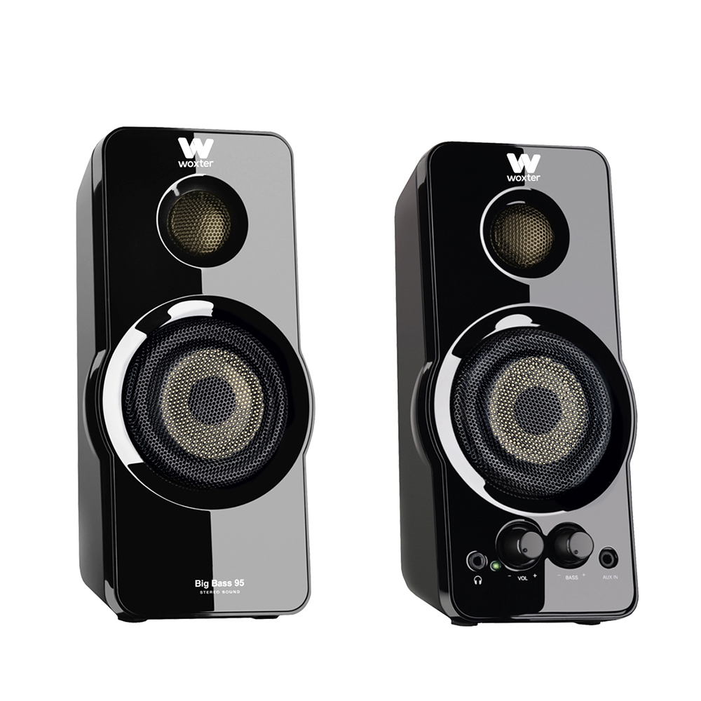 Woxter SO26-031 Altavoces 2.0 20W Big Bass 95