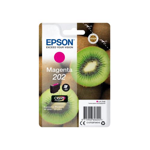 EPSON T02F3 (202) MAGENTA CARTUCHO DE TINTA ORIGINAL C13T02F34010